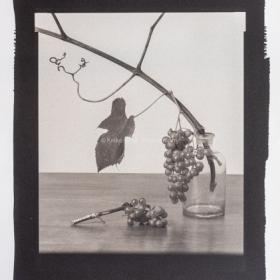 Grapes in Glass Jar-1